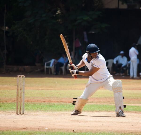 Cricket Batsman Shot photo
