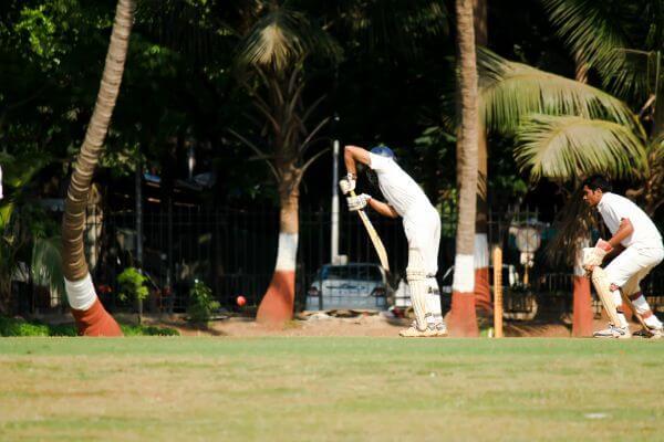 Kids Playing Cricket photo
