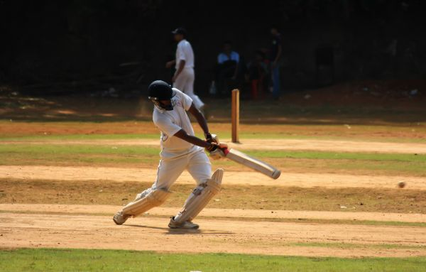 Shot Batsman Cricket photo