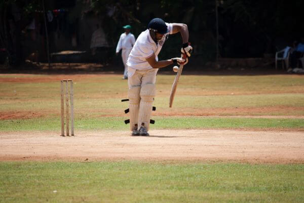 Sports Cricket Batting photo