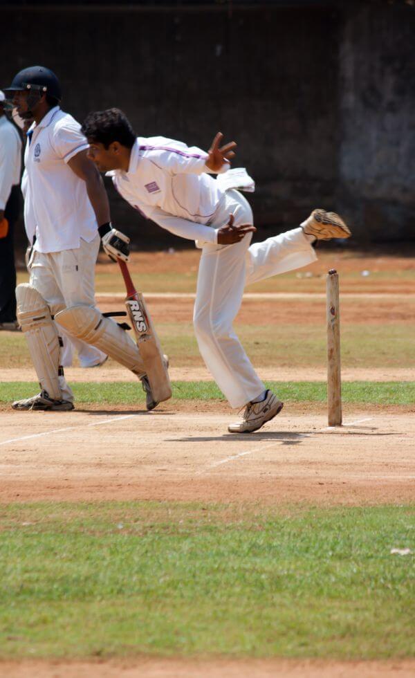 Sports Cricket Bowling photo