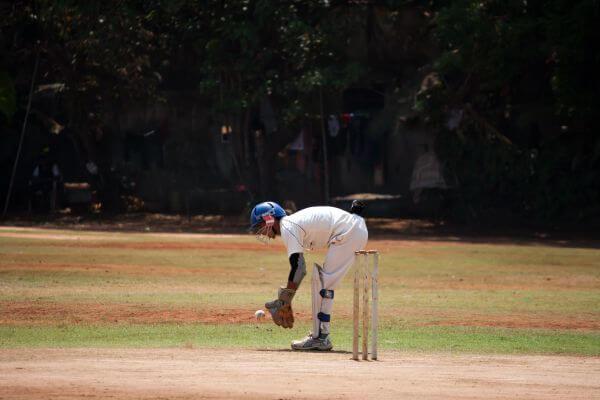 Sports Cricket Wicket Keeper photo