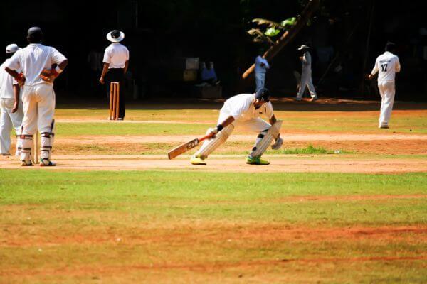 Taking A Run Batsman photo
