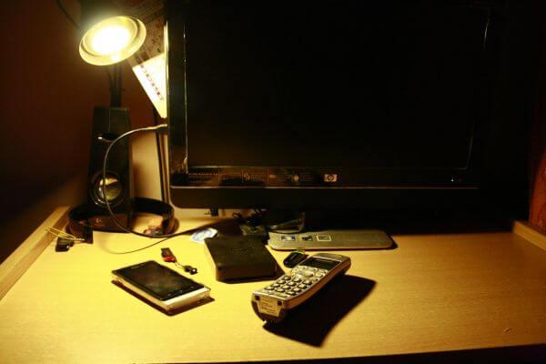 Workstation Desk Monitor photo
