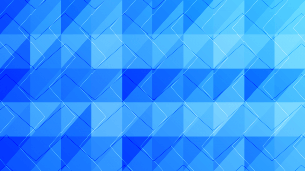 Abstract Blue Shapes vector