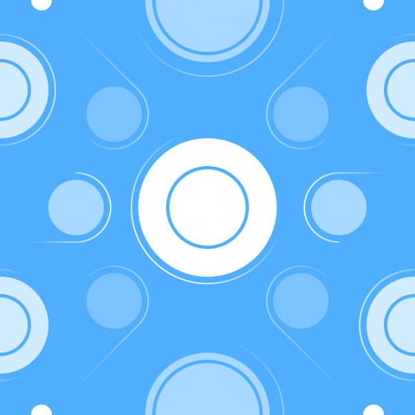 Light Circles Pattern vector