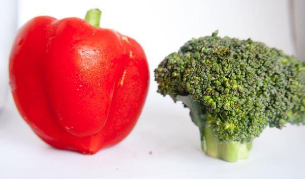 Bell Pepper Broccoli photo