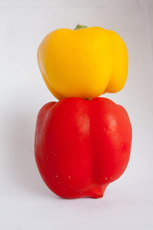 Bell Pepper Yellow Red photo