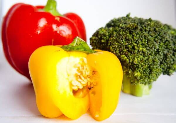 Bell Peppers Broccoli photo