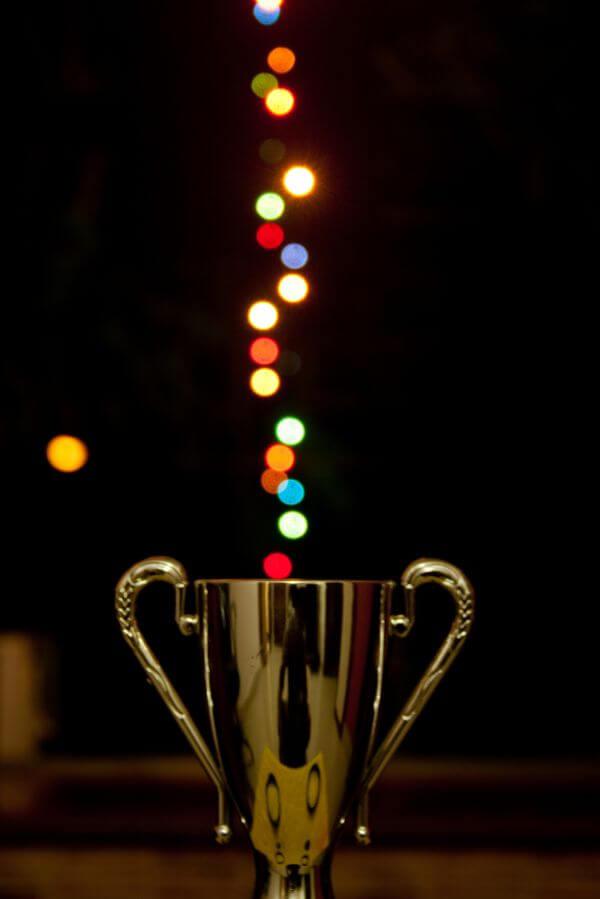 Bokeh Lights Award Cup photo