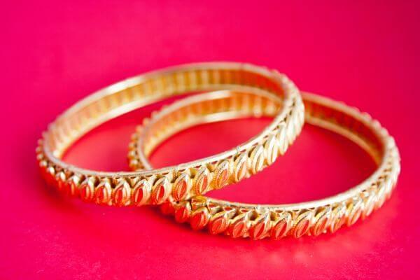 Gold Bracelets Bangles photo