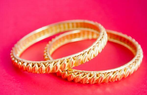 Gold Jewelry Bangles photo