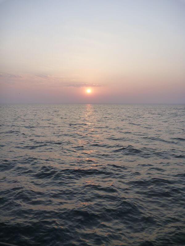 Beautiful Sunset Sea photo