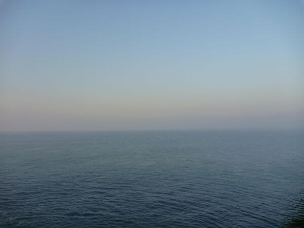 Calm Blue Sea Horizon
