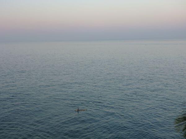 Calm Sea Horizon View photo