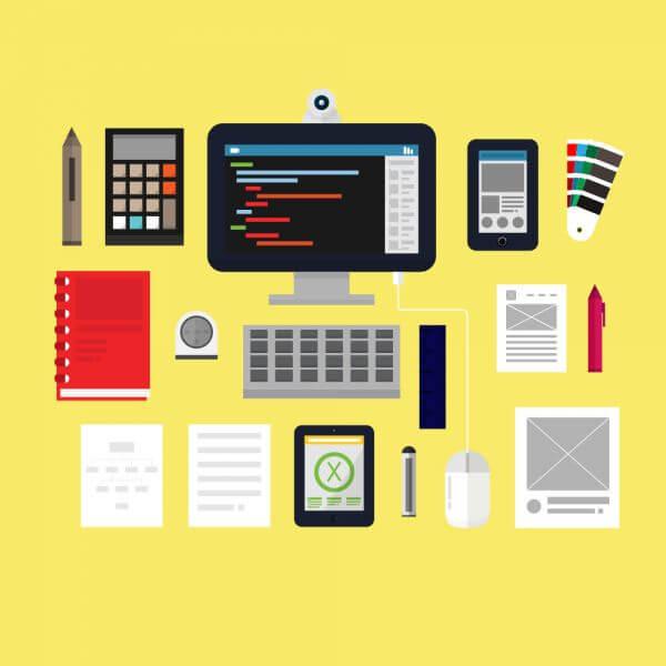 App Development Tools vector