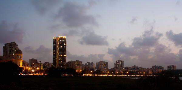 Mumbai City Evening photo