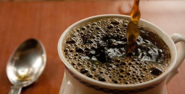 Pouring Tea Coffee photo