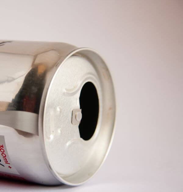 Side View Soft Drink Can photo