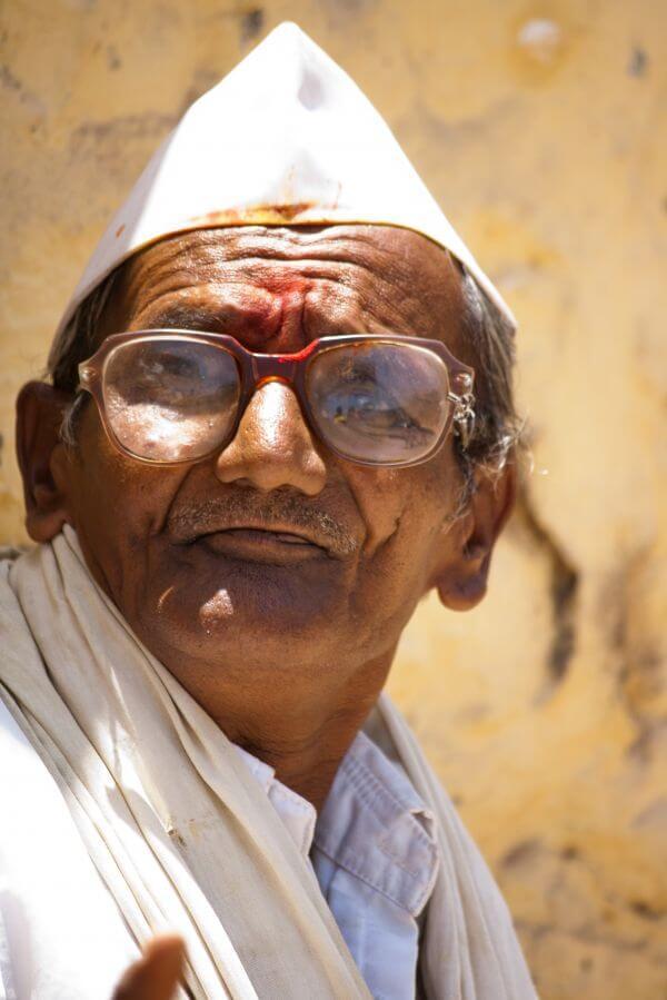 Old Man India photo