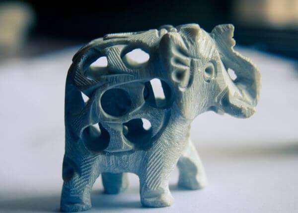 Elephant Figure Decorative photo
