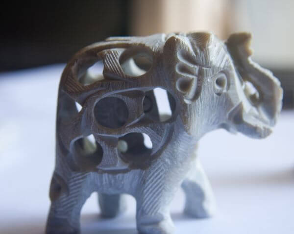 Elephant Figure Decorative photo