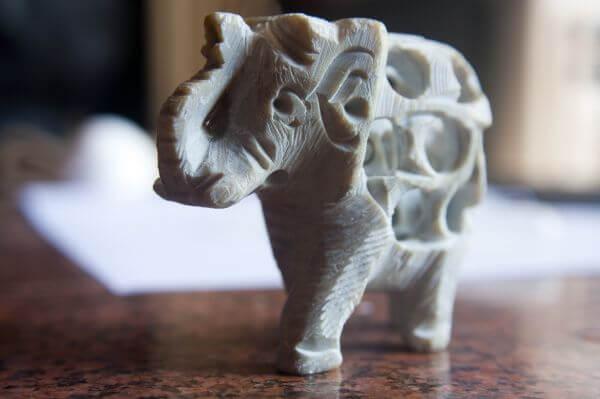 Elephant Show Piece photo