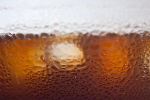 Glass Drink Closeup photo