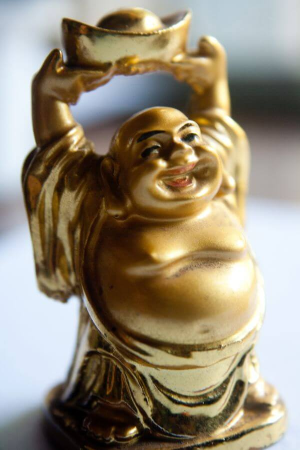 Laughing Buddha Figure photo