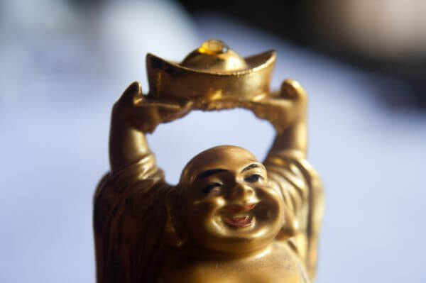 Laughing Buddha Figure photo
