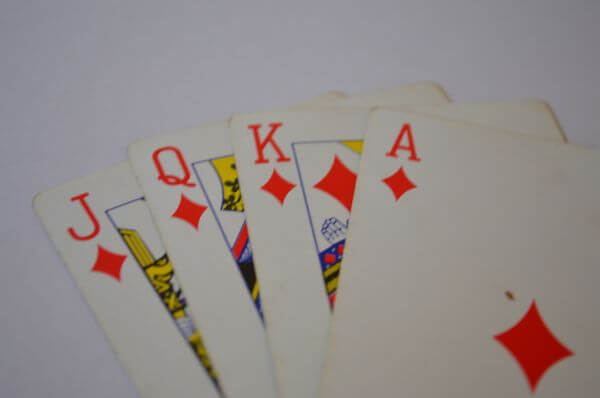 Playing Cards Good Luck photo