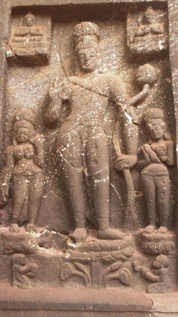 Cave Motif Buddhism photo