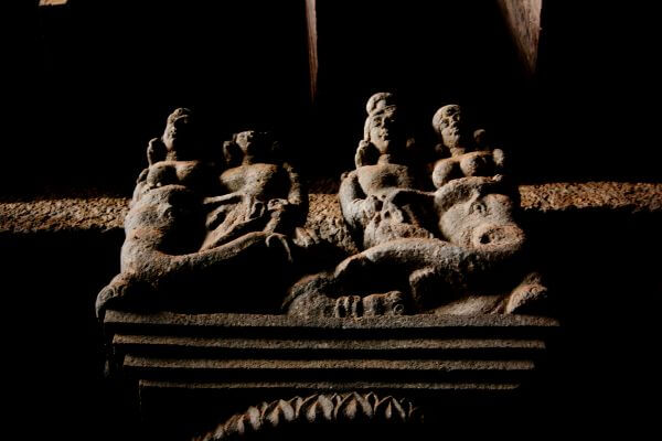 Cave Statues Motifs photo