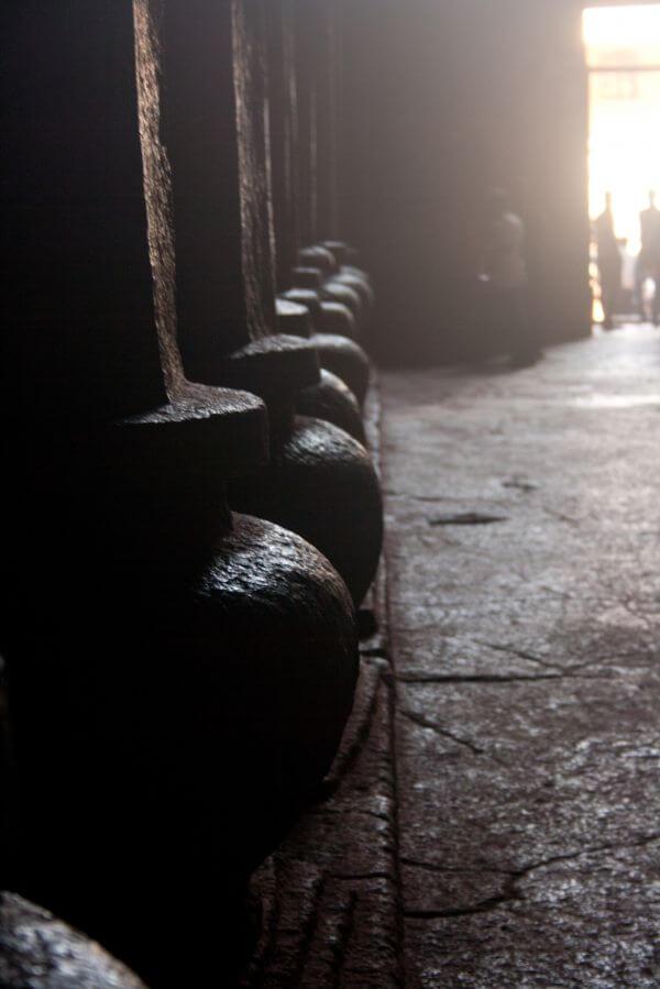 Caves Pillar Closeup photo