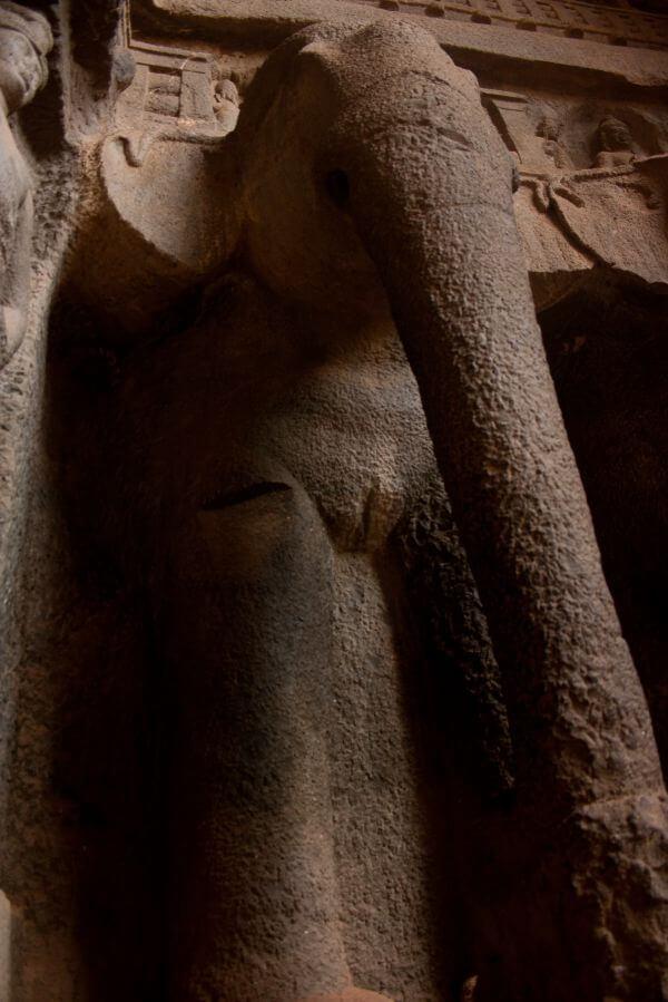 Elephant Karla Caves photo