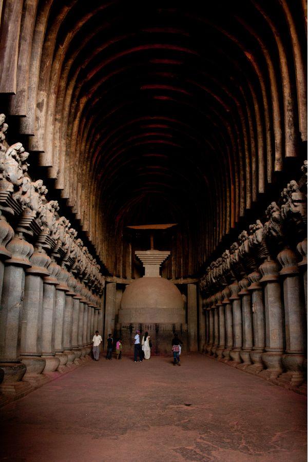 Karla Caves India photo