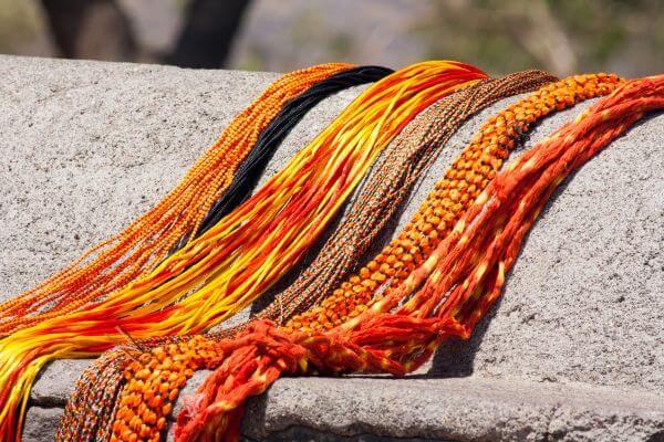 Orange Threads photo