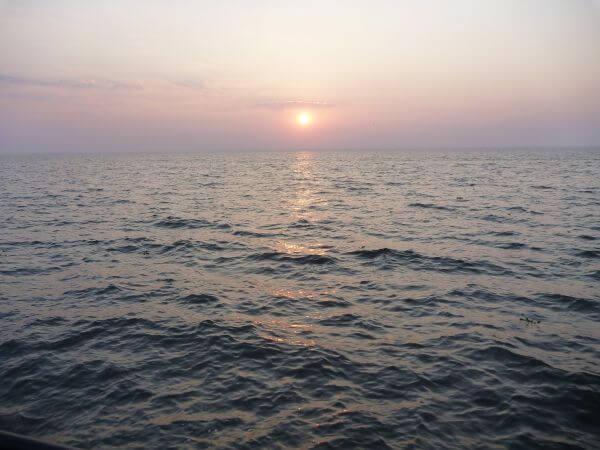 Sunset Sea Water photo