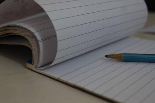 Notebook Pencil photo