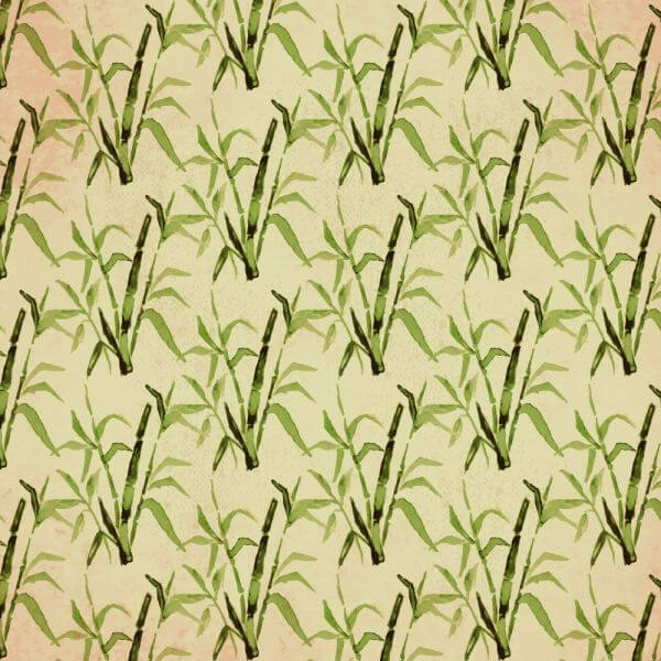 Vintage japanese pattern with bamboo vector