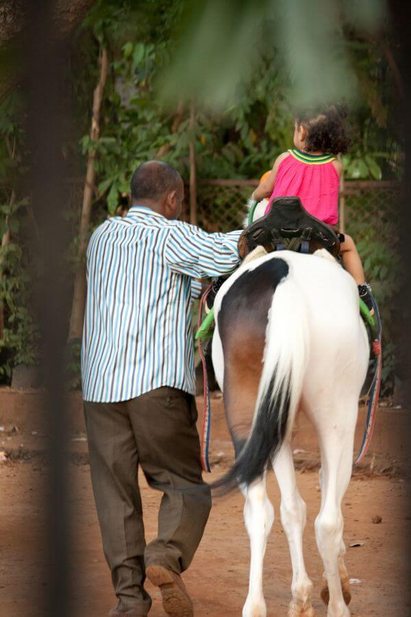 Child Horse Ride photo