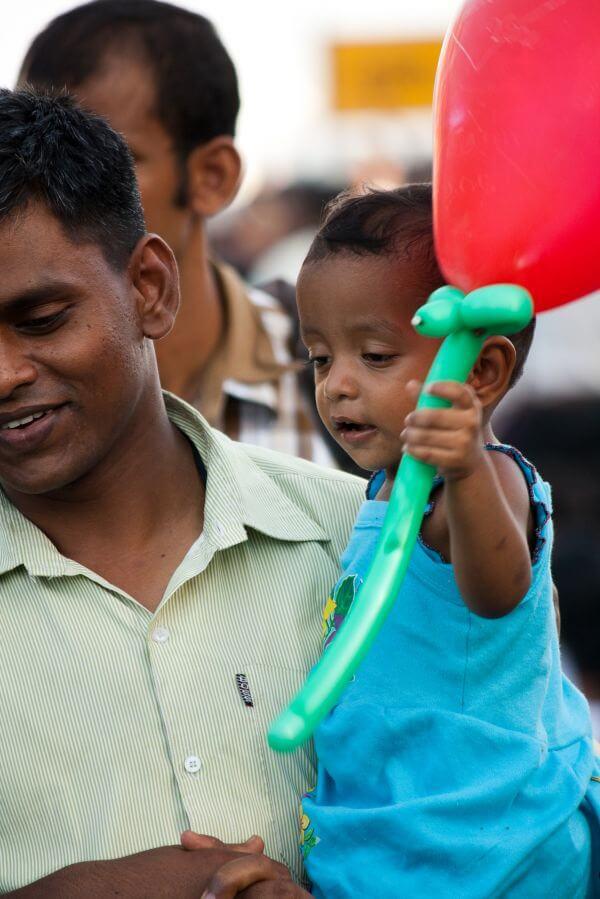 Child With Balloon photo