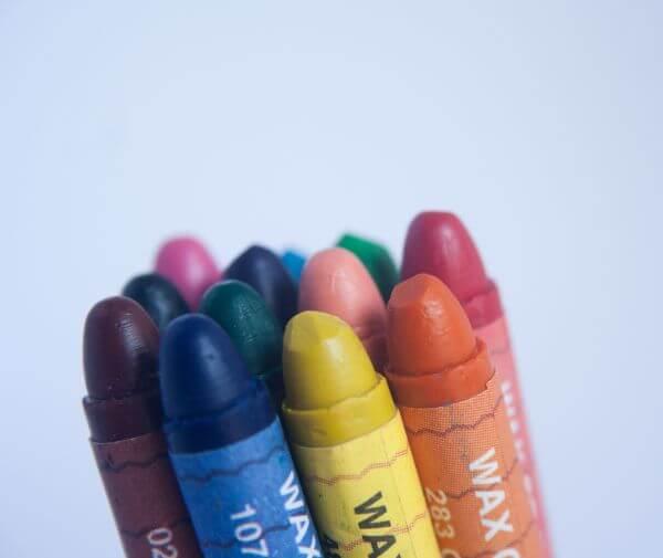 Crayon Colors Bunch photo