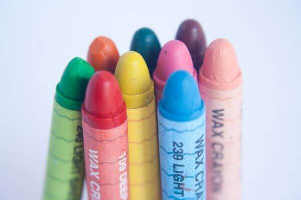 Crayons Bunch photo