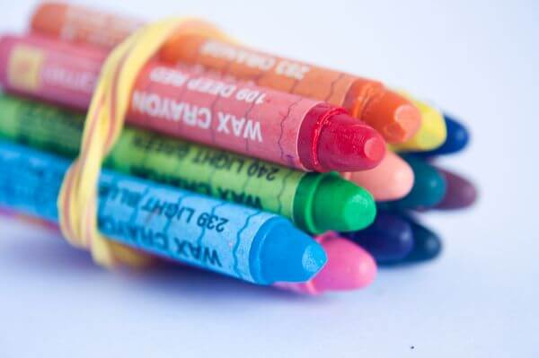 Crayons Colors Kids photo