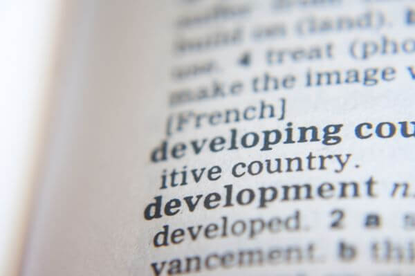 Development Word Dictionary photo