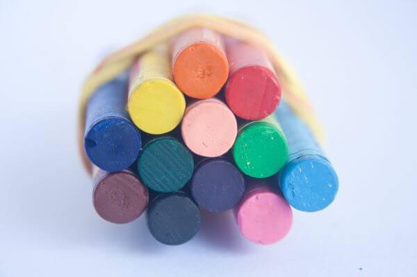 Kids Crayons Colors photo