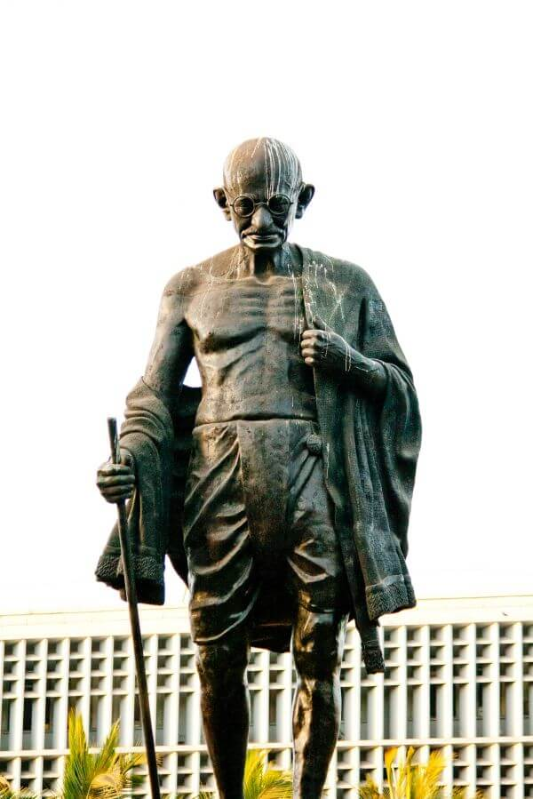 Mahatma Gandhi Statue photo