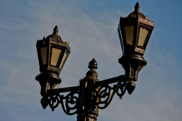 Ornate Street Lamps photo