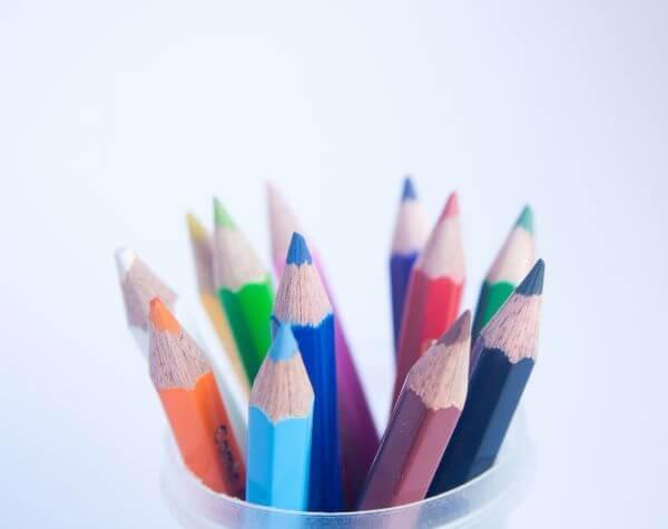 Pencils Colors Kids photo